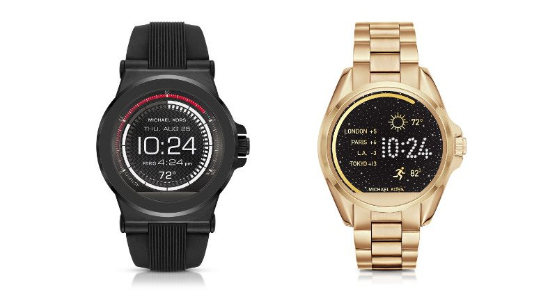 A LOOK AT: Michael Kors newly introduced Android Wear ...