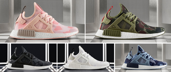low priced dc003 3d700 This 5 Colorways of the adidas NMD XR1 Duck Camo will ...