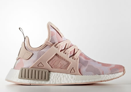 By9925 Men's adidas Originals NMD Xr1 Grey Heather Solar