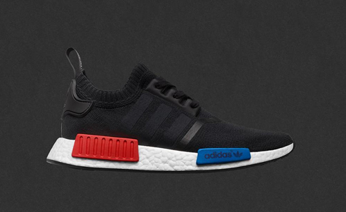 "aef30a483489 RESTOCK ALERT  The adidas NMD R1 Primeknit OG ""Black"" restocks this Weekend!"