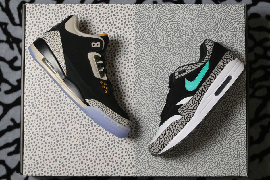 75304b36c7 However, the Air Max 1 from the pack will come with additional features  such as the Jumpman on the outsole and the elephant print design on the  insoles, ...