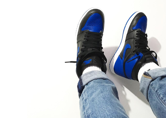ab5d4e7aa1cb WHILE YOU WAIT  Here s how people are wearing the Air Jordan 1 Retro High OG   Royal
