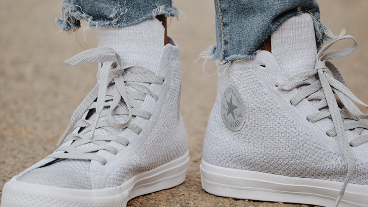 1176b14a91ed How the Converse Chuck Taylor All Star x Nike Flyknit looks on-feet ...
