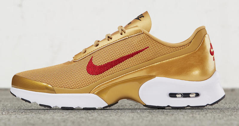 Nike Air Max Red And Gold