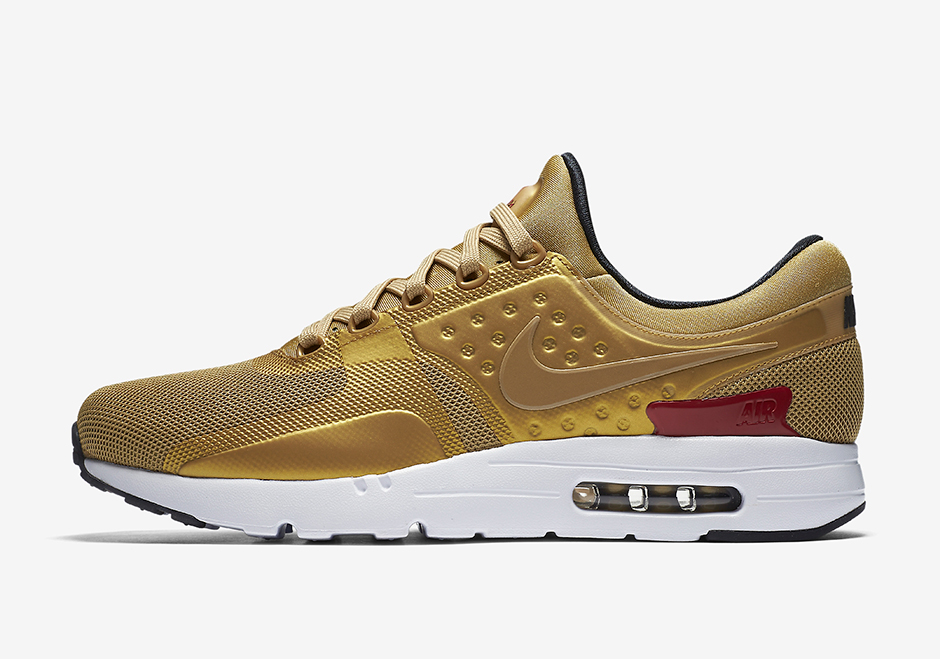 RELEASE DETAILS: Nike Air Max 'Metallic Gold' collection