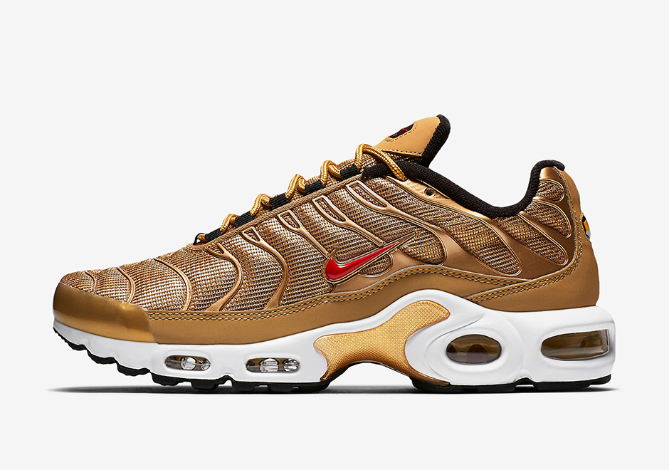 "new arrivals ef0b9 94f8c NIKE AIR MAX PLUS ""METALLIC GOLD"""