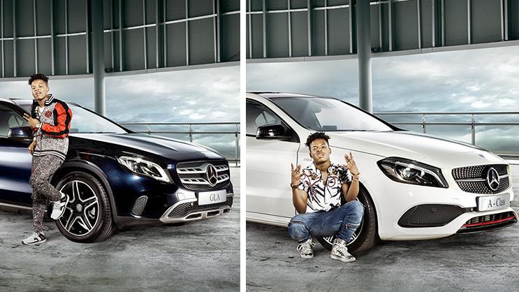 Nasty C Scores New Deal With MercedesBenz YoMZansi - C car