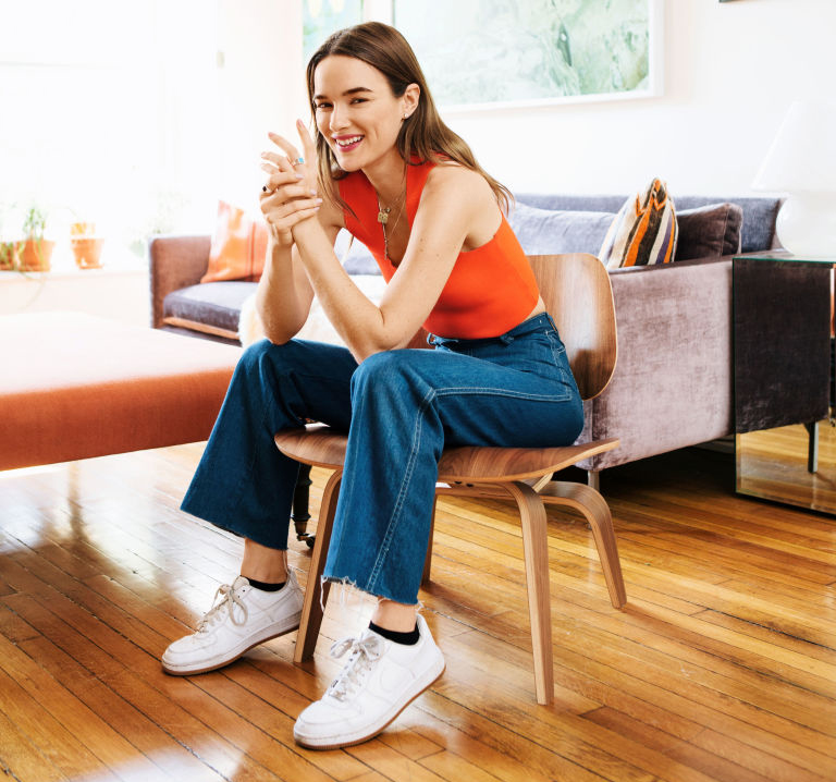 I got into wearing Cortez after I moved to LA and went to the swap meet  with stylist Camille Garmendia. They were her signature shoes.