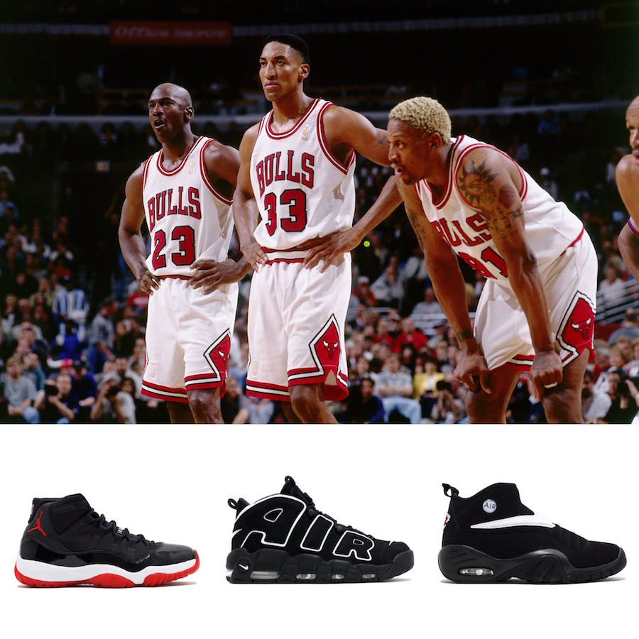 cfddc68a64 Looking back at that '96 Bulls team, you had the Jordan 11 and the Shake  Ndestrukt. What was the reaction to your shoe in the locker room?
