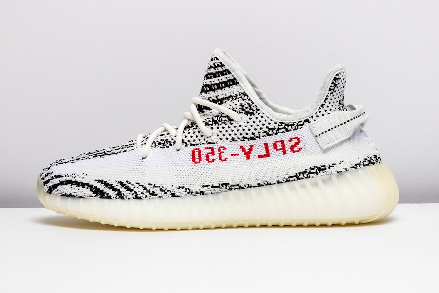 "9cfce36c993 Look out for this YEEZY BOOST 350 V2 ""Zebra"" releasing on Saturday"