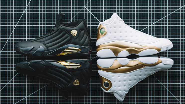 09d6a6c9a1dbd8 The Air Jordan 13 14 Defining Moments Pack drops this Weekend ...
