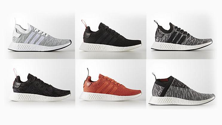 b9d125bd adidas Originals presents new iterations of the NMD R2 and NMD CS2  silhouettes available in both men and women's sizing.
