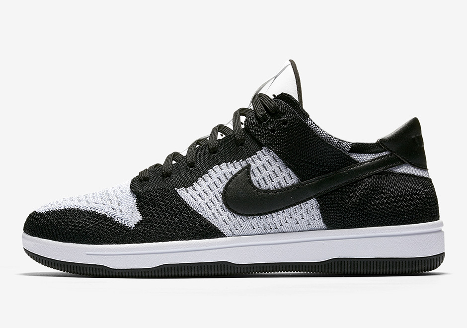finest selection 7b412 f0e99 Arriving in two colorways (Black White and University Red). Its upper is  fully constructed with Nike s lightweight material contrasted with leather  ...