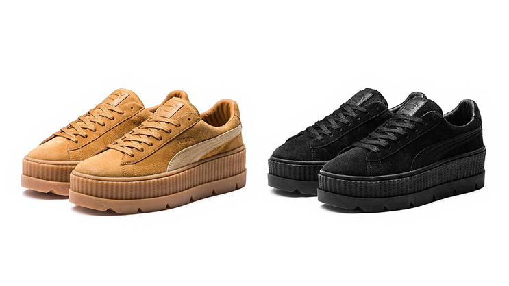 new products 06738 c4da5 The new Rihanna x PUMA Cleated Creeper drops month end ...