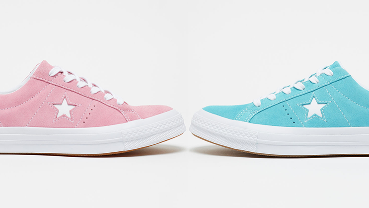converse one star pastel