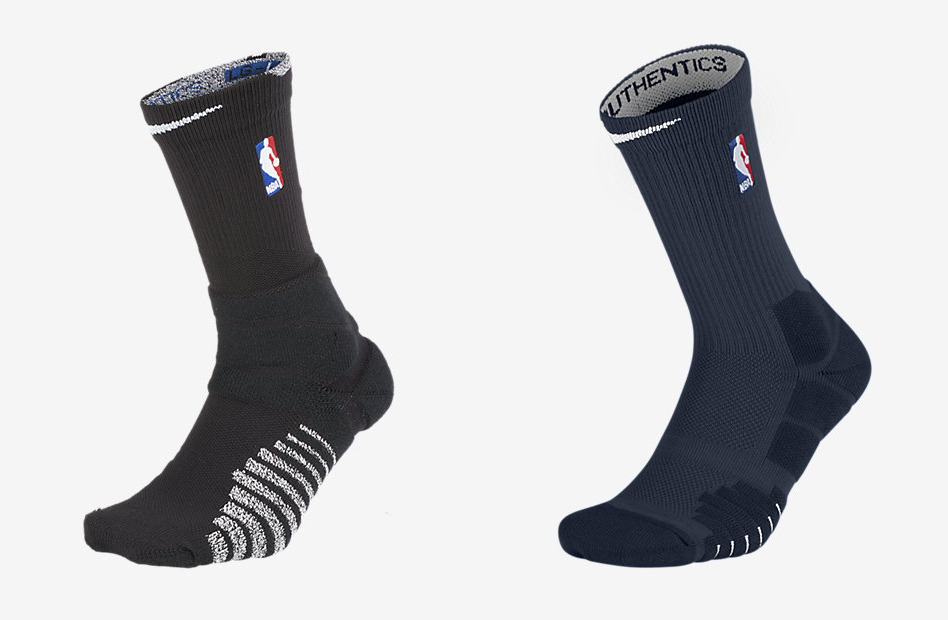 28a4f79b033 These are the first Nike socks to have the NBA logo. Special versions of  both socks will be worn by all NBA athletes throughout the season