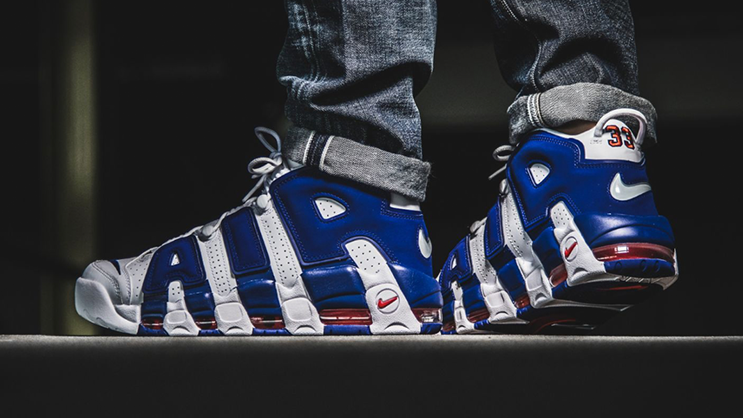 Go grab a pair of the Nike Air More Uptempo