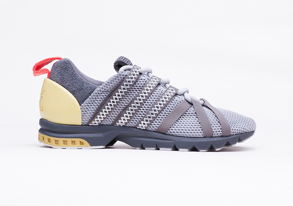 finest selection 7a111 df233 The Adistar Comp AD features a similar material construction of Climacool  mesh and premium suede atop the original tooling of its namesake, ...