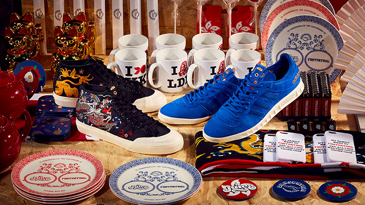 00c1bc453e4a The latest instalment of the adidas Consortium Sneaker Exchange is here  with London s Footpatrol together with Hong Kong-based Juice to bring you  two ...