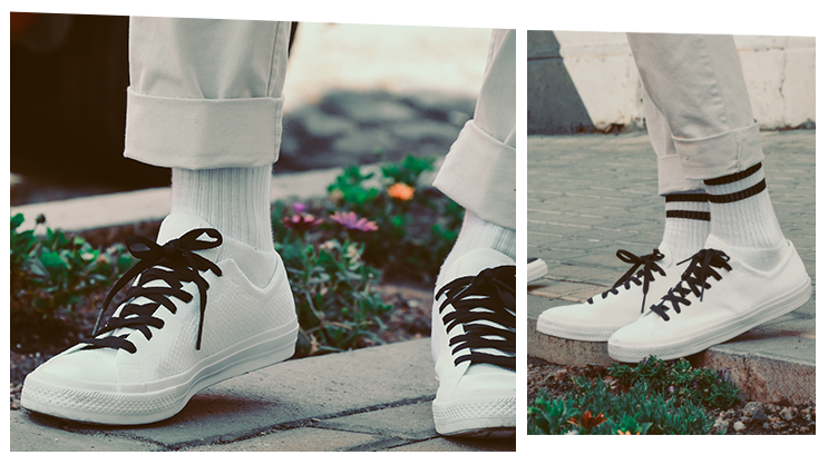 6484439b Take a look at the new Converse Chuck Taylor All Star X Nike Flyknit ...