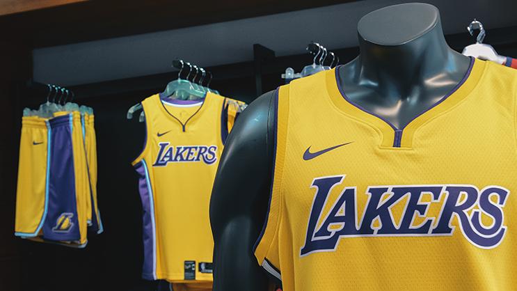 the latest e737d f8e6b A LOOK AT: Nike's NBA Merchandise at Shesha Store – Sandton ...
