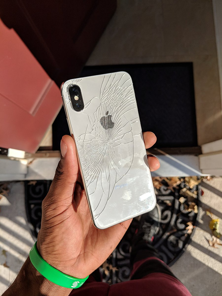 various colors 2c489 e899f How iPhone X looks like after a smash on the floor | | YoMZansi