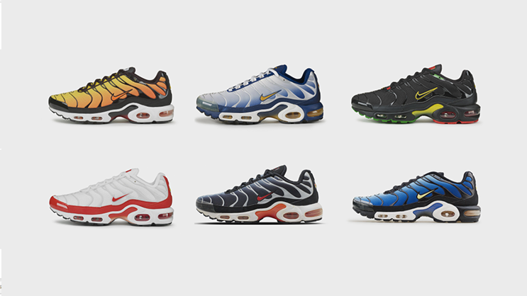 Some athletic shoes transcend their performance roots and become a cultural  phenomenon. The Nike Air Max Plus a3837c8e6