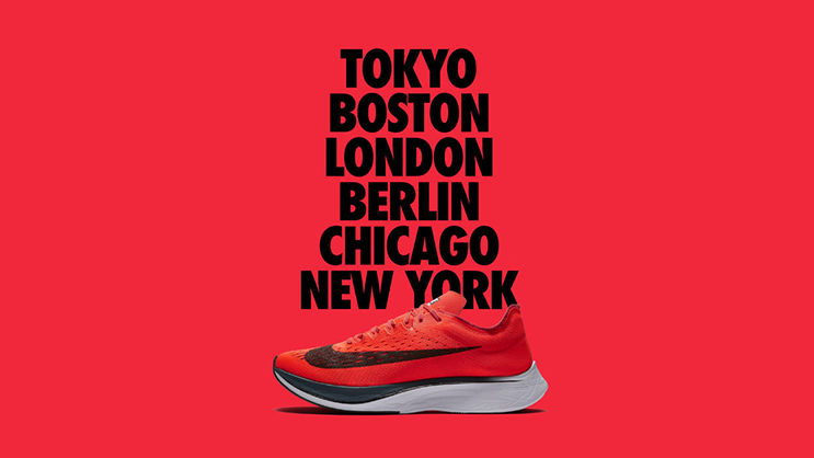 fe6930f4a99e The Nike Zoom Vaporfly 4% was made famous during Nike s Breaking 2 attempt. Eliud  Kipchoge