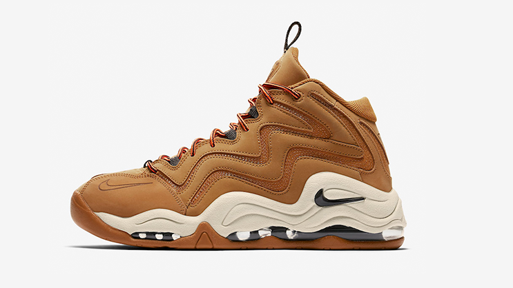 """new concept 193c3 2c101 Scottie Pippen s signature sneaker, the Nike Air Pippen 1 is making a  comeback, this time in an all-new """"Wheat"""" iteration. Dressed in a Desert  Ochre, Velvet ..."""