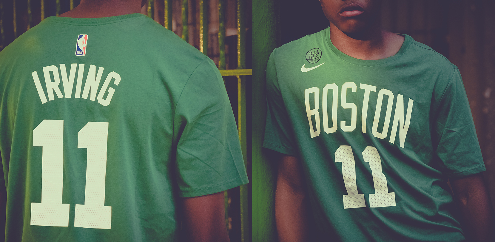 ca66318b5 Enhance your Nike's NBA collection by grabbing this Kyrie Irving Name and  Number T-shirt from Shesha Stores (The Zone, Melrose Arch, Canal Walk,  Eastgate, ...