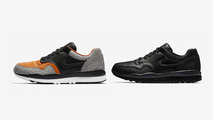 """d0a5363576 Originally debuted released back in 1987, the Nike Air Safari is making a  return in its original """"Safari"""" colorway, also in a """"Triple Black"""" edition."""