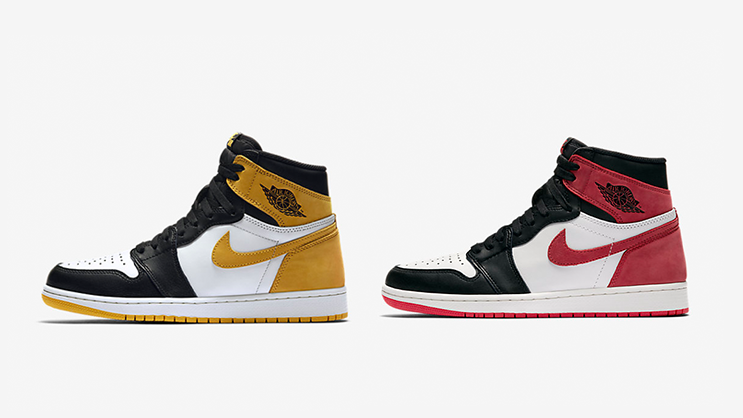 """official photos 5ea21 7c202 NEW DATES  The Air Jordan 1 """"Yellow Ochre"""" and """"6 Rings"""""""
