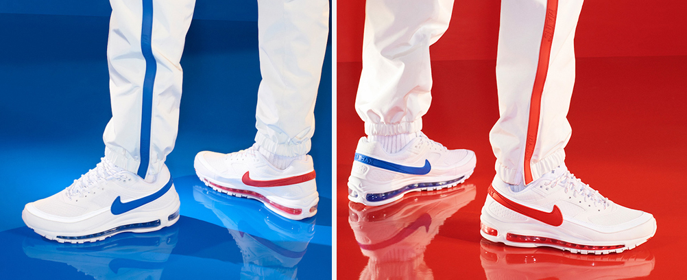 ... mention being actual capitals) and the Nike Air Max 97 BW SK ties them  together through the tricolour reference but more discretely honours the Nike  Air ... 30f95ddb6