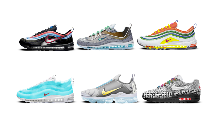 Winners and Shoes of the 2018 Nike: ON AIR Contest announced