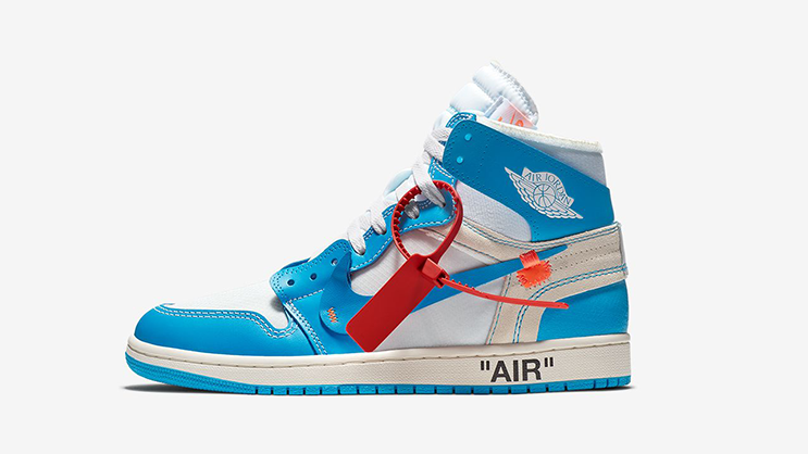 """new concept 22ed8 eec7b UPDATE  the Air Jordan 1 Retro High Off-White """"Powder Blue"""" release has  been rescheduled that is why it is removed from the launch calendar."""