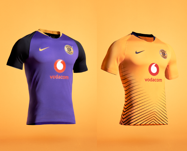 bc4adcca7 Kaizer Chiefs has unveiled their new home and away kits for the upcoming  2018 19 season. The new home kit features a modern design with the iconic  gold ...
