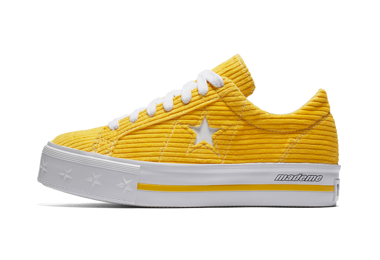 edf55594ee78f9 Converse x Made Me One Star Platform – Vibrant Yellow White