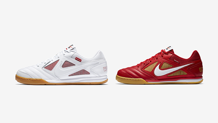 b8cebb0ff953 Supreme has once again come together with Nike for an exciting  collaboration and this time they turned to the Nike SB Lunar Gato.