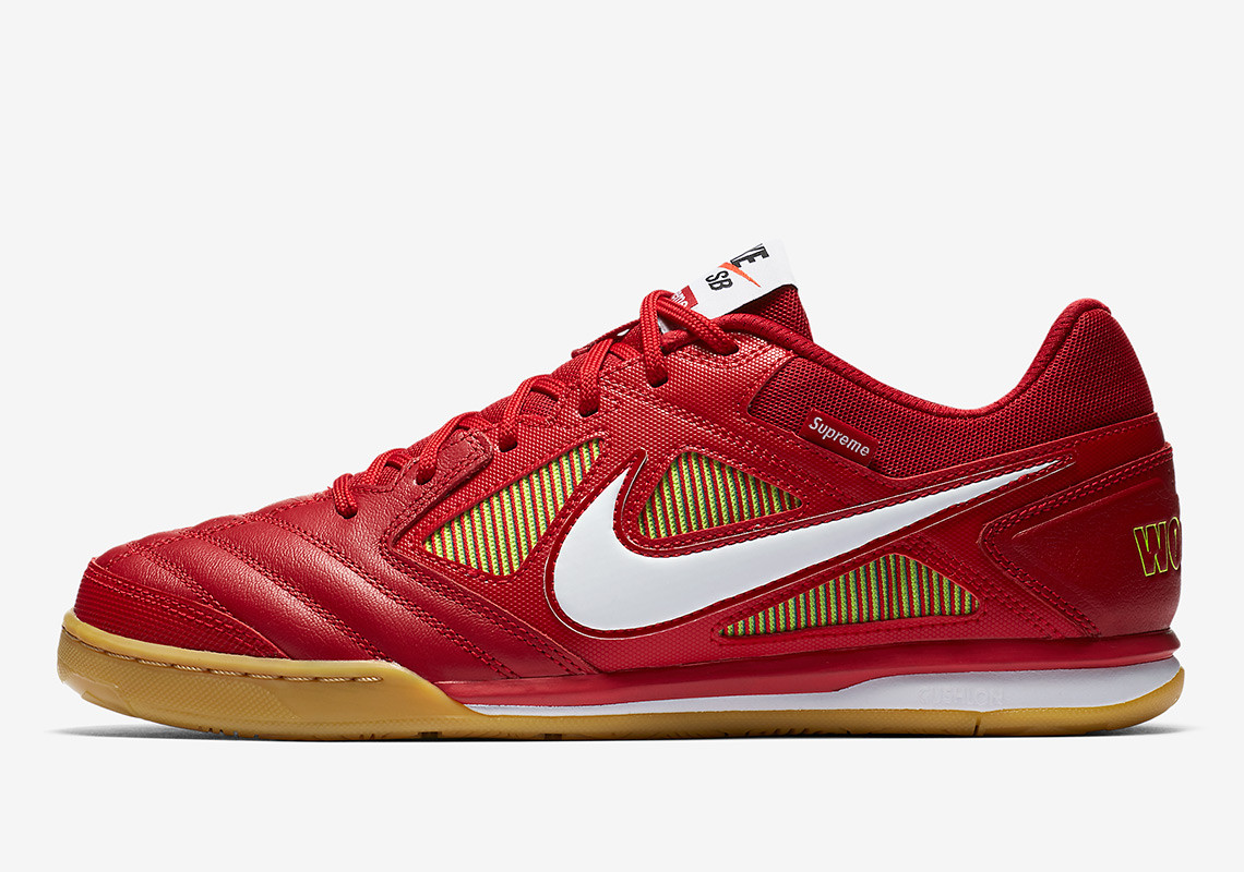 the latest a59d2 09b41 Supreme has once again come together with Nike for an exciting  collaboration and this time they turned to the Nike SB Lunar Gato.